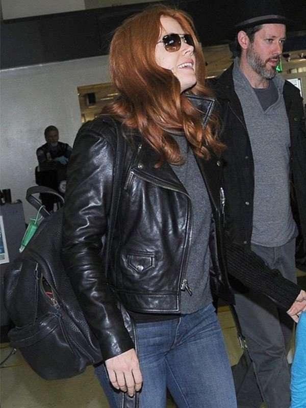 Amy Adams Black Motorcycle Jacket