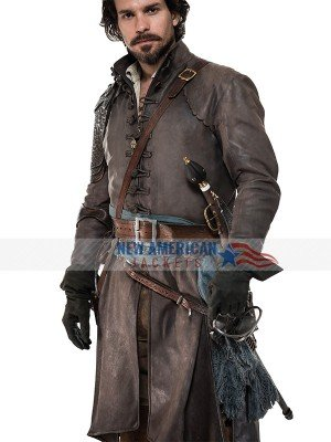 The Musketeers Aramis Leather Coat