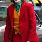 Arthur Fleck Joker Red Tuxedo Suit