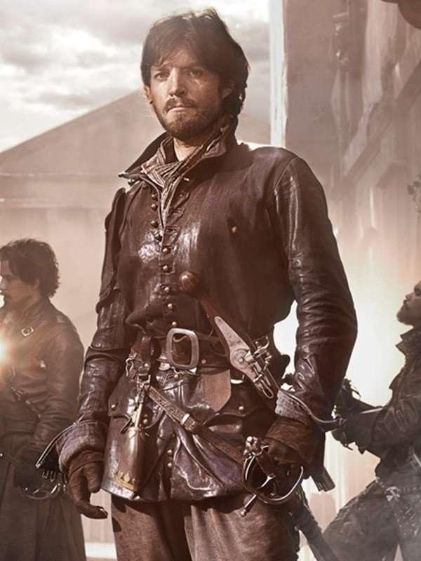 Athos The Musketeers Black Jacket