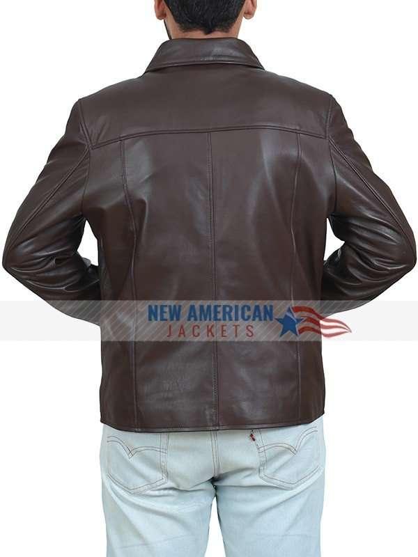 Barack Obama Casual Brown Jacket