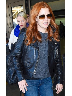 Amy Adams Black Jacket