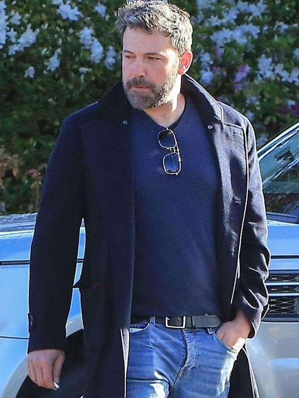 Ben Affleck Blue Coat