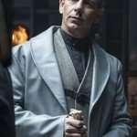 Ben Mendelsohn Robin Hood Leather Long Coat