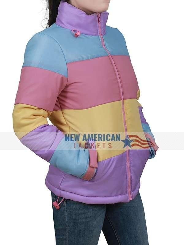 Brie Larson Tricolor Jacket