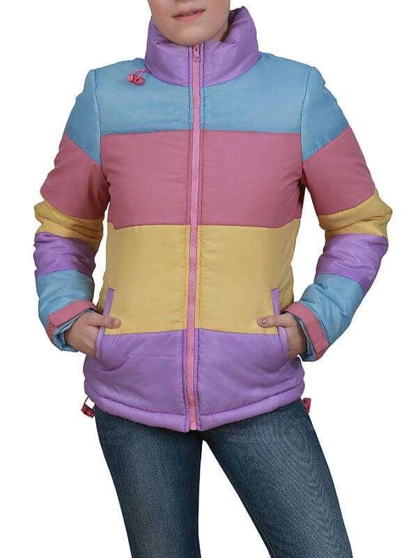 Brie Larson Unicorn Store Kit Jacket for Womens