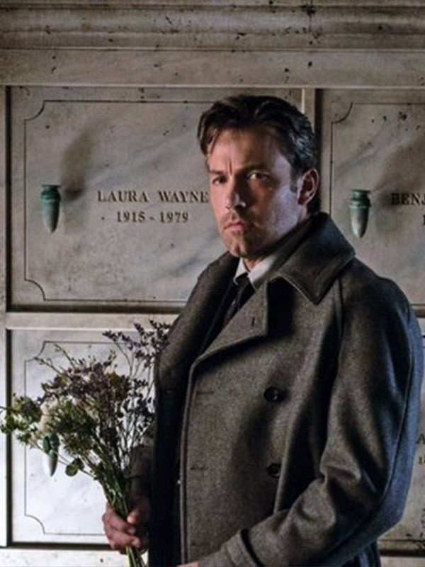 Bruce Wayne Dawn of Justice Coat