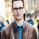 Cory Michael Smith Leather Jacket from TV Series Gotham