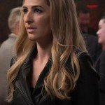 D'Arcy Carden Black Leather Jacket