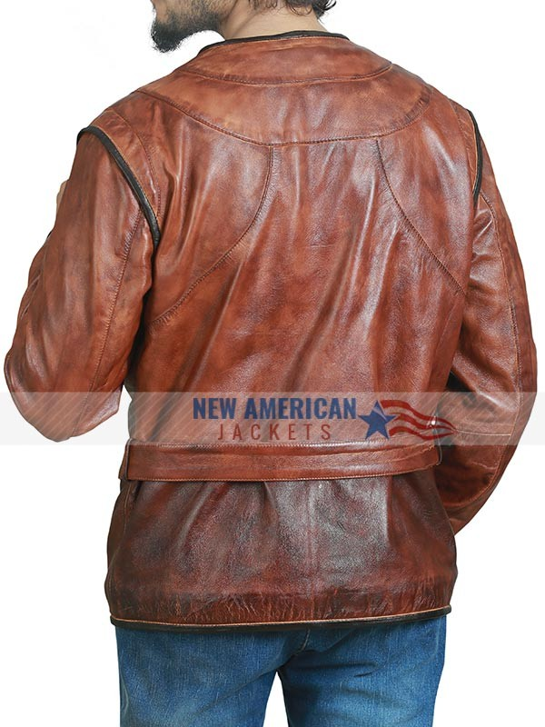 D'Artagnan Brown Leather Jacket