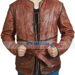 D'Artagnan The Musketeers Brown Leather Jerkin