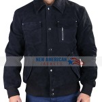 Daddy's Home 2 Mark Wahlberg Suede Leather Jacket