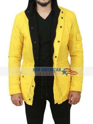 Jonas Kahnwald TV Series Dark Louis Hofmann Hooded Coat
