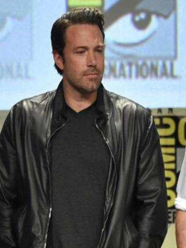 Dawn of Justice Bruce Wayne Black Jacket