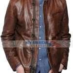Edward Nygma TV Series Gotham Distressed Leather Jacket