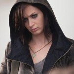 Emily Blunt Arthur Newman Distressed Leather Jacket