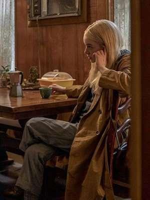 Annie Landsberg TV Series Maniac Cotton Coat