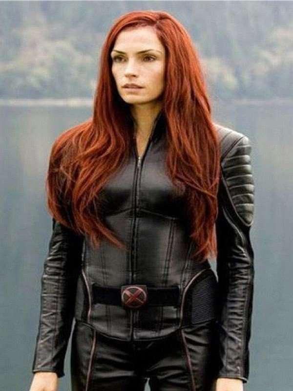Famke Janssen X-Men Black Jacket