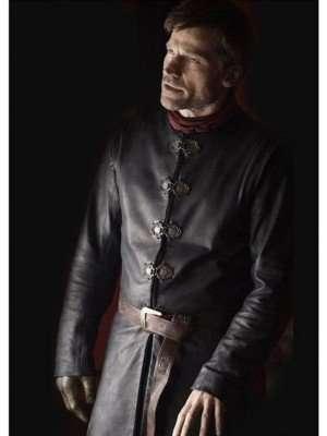 Jaime Lannister Game of Thrones Season 7 Leather Jacket