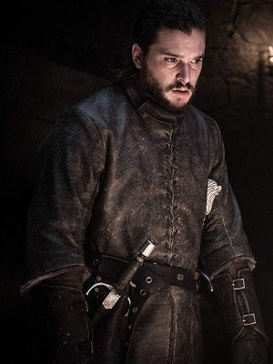 Jon Snow Game of Thrones Brown Leather Jacket
