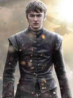 Bran Stark Game of Thrones Season 7 Black Vest