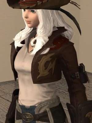 Final Fantasy XIV Gyuki Leather Jacket