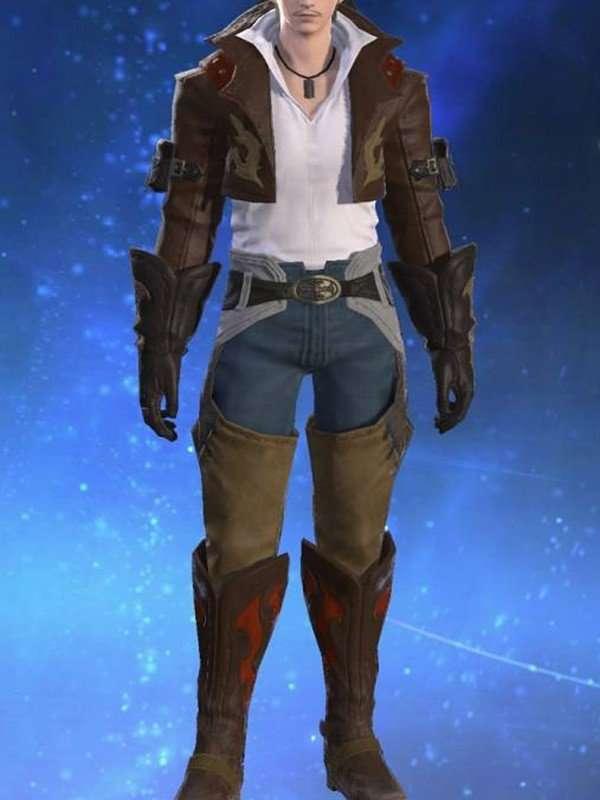 Gyuki Leather Jackeet