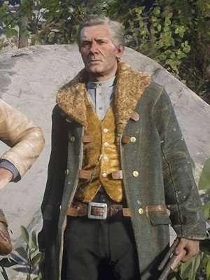 Hosea Matthews Red Dead Redemption Coat