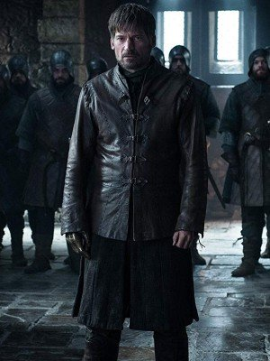 Game of Thrones Jaime Lannister Black leather Jacket