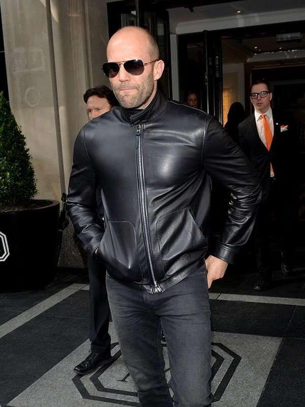 Jason Statham Black Jacket