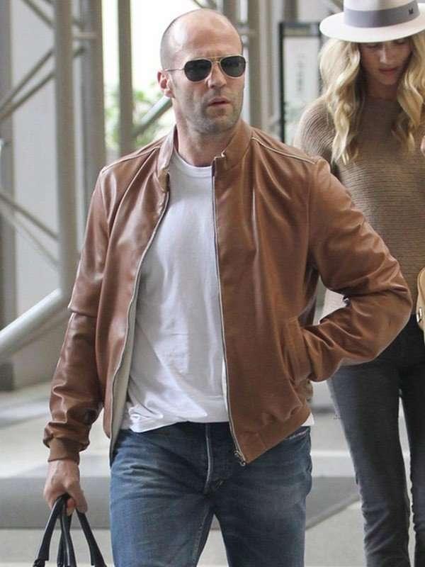 Jason Statham Brown Jacket