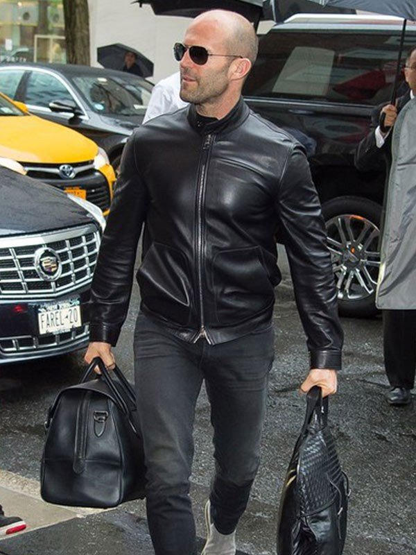 Jason Statham Leather Jacket
