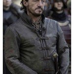 Jerome Flynn Game of Thrones Brown Leather Jacket