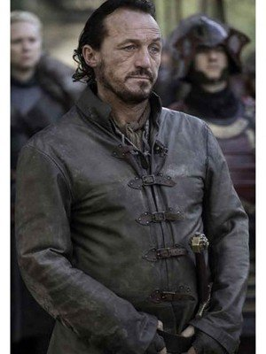 Game of Thrones Season 7 Bronn Leather Jacket