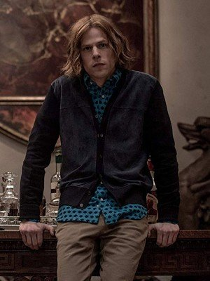Batman V Superman Jesse Eisenberg Black Jacket
