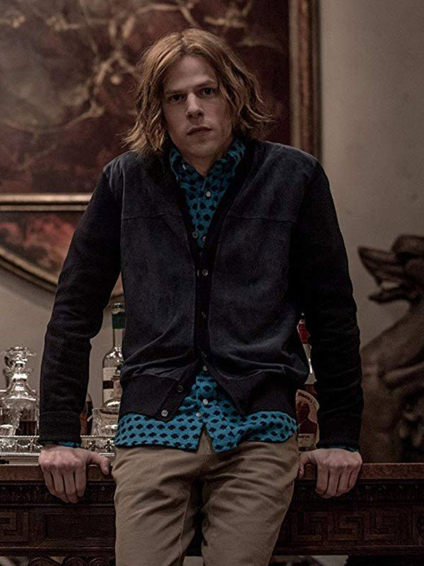 Jesse Eisenberg Batman V Superman Jacket