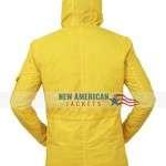 Jonas Kahnwald Dark Hooded Polyester Coat