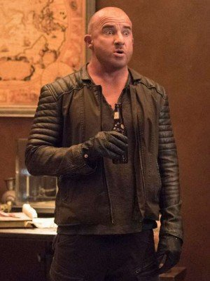 TV Series DC Legends of Tomorrow Mick Rory Black Leather Jacket