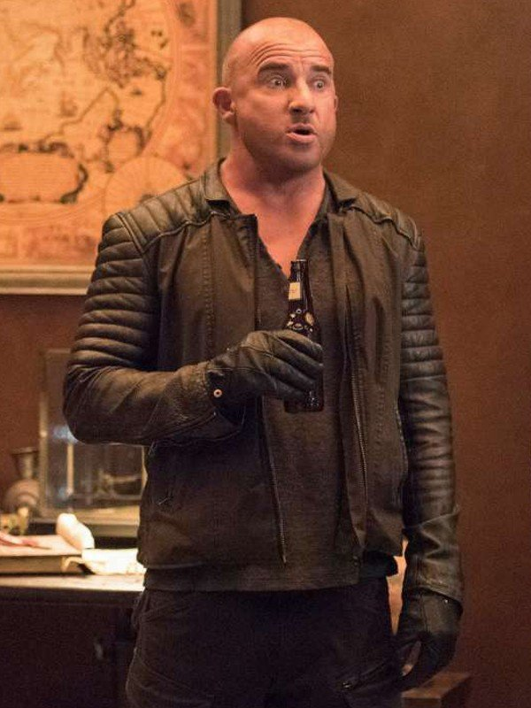 Legends of Tomorrow Dominic Purcell Black Jacket