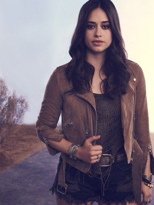 Roswell New Mexico Jeanine Mason Suede Leather Jacket