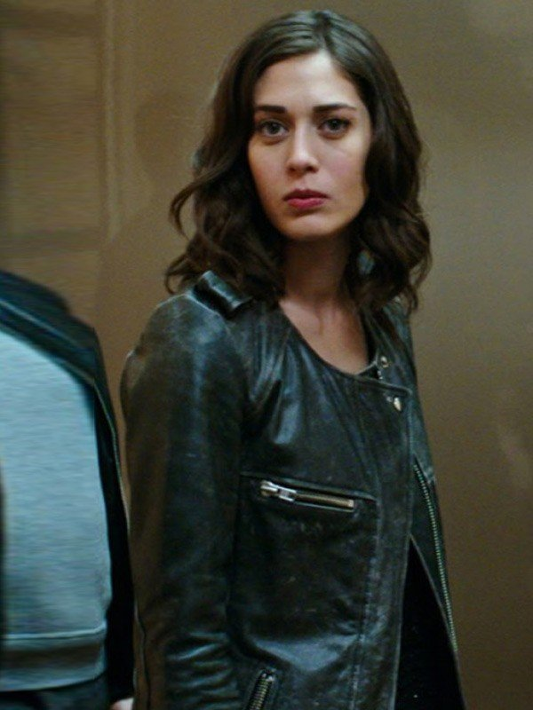 Lizzy Caplan Now You See Me 2 Leather Jacket