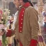 Luke Evans Brown Coat