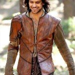 Luke Pasqualino The Musketeers Leather Jerkin