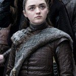 Maisie Williams Game of Thrones Leather Jacket
