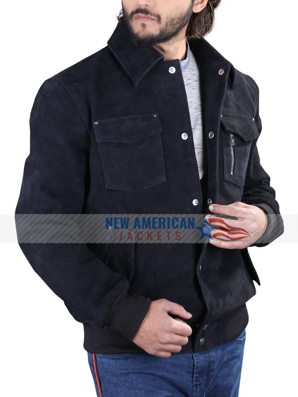 Mark Wahlberg Suede Jacket