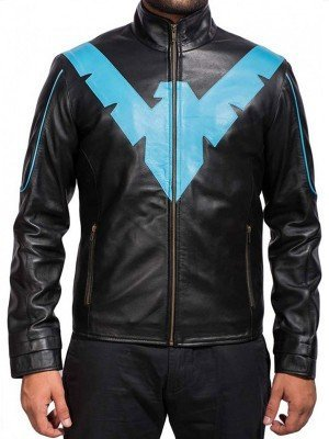 Scott Porter Batman Arkham Knight Leather Jacket