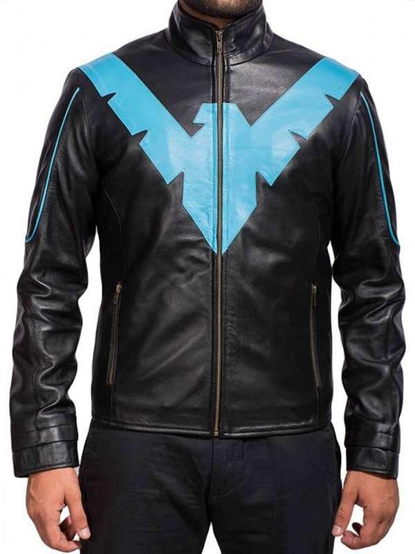 Noora Batman Arkham Knight Game Black /& WHite Leather Jacket Cosplay Costume BLACK FRIDAY Party Coat  SJ3