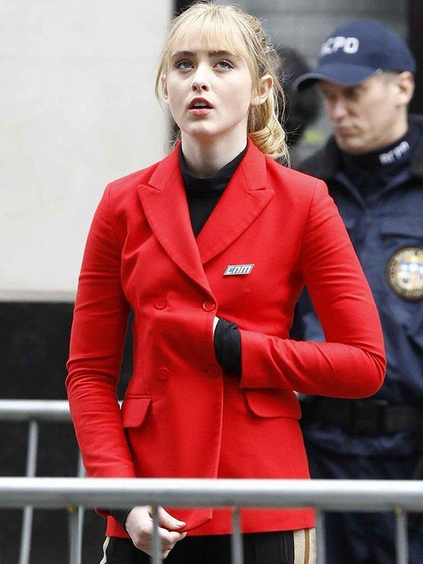 Pokémon Detective Pikachu Lucy Stevens Red Jacket