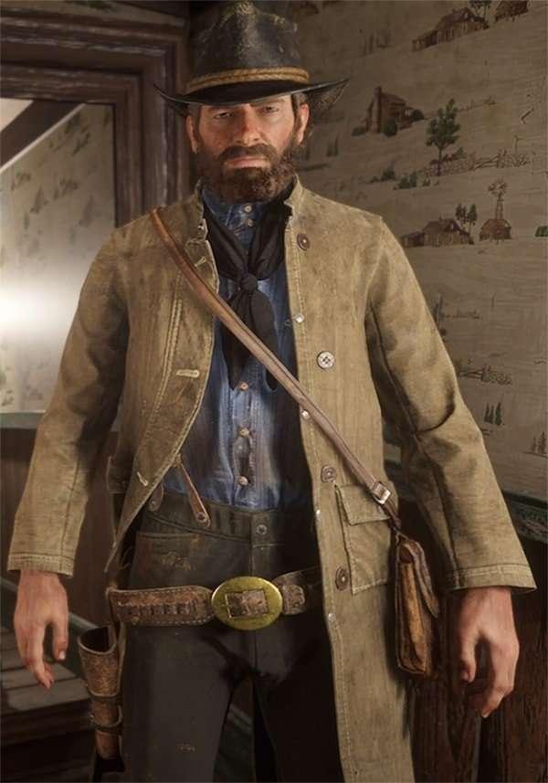 Red dead redemption Jack Marston coat