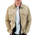 Richard Madden Off-White Suede Leather Jacket